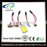 new product super bright auto interior led lamp roof light COB 16smd car parts accessories led lights