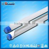 Hot sale!!! LED PC rotatable end caps LED T8 fluorescent PC lamp tube in reasonable price