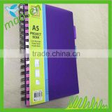 Customized fresh note books printing cheap diary note book high quanlity school note book