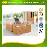 Customized Best Price Wooden Working Computer Executive Desk Office Counter Executive Table Design