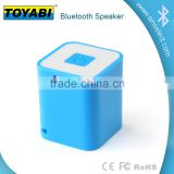 2015 Hot Sell touch sensor led table lamp Portable wireless mini bluetooth speaker boom box cube speaker