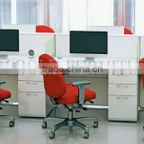 Modern Office Stuff Computer Desk Cheap White Call Center Furniture Workstation(SZ-WS535)
