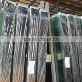clear float glass sheet for building