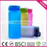 2016 new hot sale 550ml triton flat plastic joyshaker water bottle