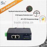 Industrial single mode fiber optic terminal equipment for ip surveillance