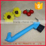 Custom design plastic horse clean brush massage for foot cleaning