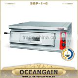 SGP-1-6 Stainless Steel Gas Pizza Oven with Ceramic Stone from Guangzhou                                                                         Quality Choice                                                     Most Popular