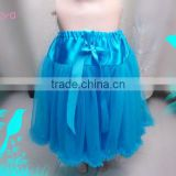 New designs princess fully skirt dress for baby