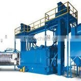 2012 high quality automatic wire rod shot blast cleaning machine