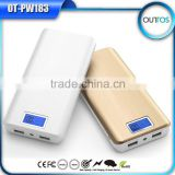 Factory Direct External Battery Portable Power Bank 16000mah for iPhone, Cellphone, MP3 etc