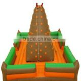 Commercial use inflatable climbing wall for children,inflatable games for kids,kids rock climbing walls