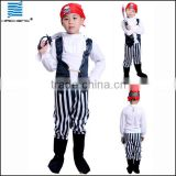 Halloween party boys Caribbean pirate costume cosplay costume