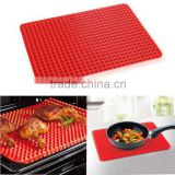 Silicone Cooking Mat Kitchen Red Pan Nonstick Silicone Baking Mat Mould Cooking Mat Oven Baking Tray Kitchen tools