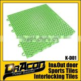 Double Layer Interlocking Basketball Flooring Tiles                                                                         Quality Choice