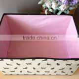 Printing Foldable non woven Storage box