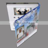 "2015 most popular souvenir 4.3"" lcd video book ,dubai video book ,lcd brochure display"