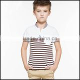 Latest Design Shirts and Fashion Cotton Fabric Boy T Shirt With Striped or Boys Fashion T Shirt