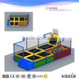 used trampolines for sale professional gymnastic large indoor trampoline park                                                                         Quality Choice                                                     Most Popular