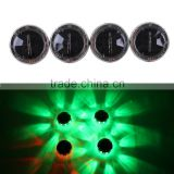 4 Pcs/Lot Universal Car LED Solar Energy Colorful Wheel Centre Hub Flash Light With Remote Control                                                                         Quality Choice