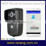 Mini PIR Detection Version Intelligent Wifi Visual Doorbell APP Remote Monitoring LCD Video Doorbell