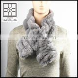 High-end Lady Elastic Fake Fur Scarf