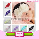 Fashion Stretch Baby Girls Hair accessories Elastic Flower accessories Headband for Baby Girls