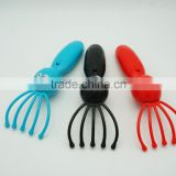New Electronic vibrating head plastic octopus massager
