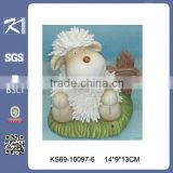 home decoration animal figurine ceramic sheep