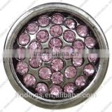 CJ4738 High Quality metal fancy buttons for woman bracelet quality rhinestone snap button