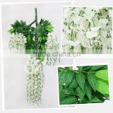Artificial Wall Hanging Wisteria Flower Vine/Rattan Decoration With Cheap Price