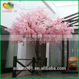 Pink fiber fake cherry blossom tree artificial cherry blossom tree for wedding decorative                                                                                                         Supplier's Choice