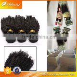 Crown quality cheap price glossy Jerry Curl Hair Bundles jerry curly hair weft for African women
