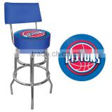 fat pad barstool with backrest CY801B