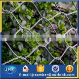 7x7 ferrule stainless steel wire rope mesh net for zoo mesh