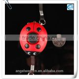 130db Ladybug personal safety alarm anti rape anti attack alarm for ladies kids elderly nigh shift people