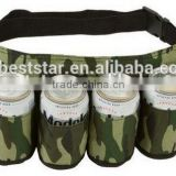 Drinker Beer and Soda Can Holster Belt, Pack of 6