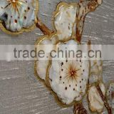 chinese hand painted wallpapers 100% silk