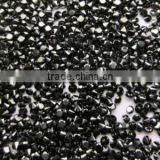 Natural round cut jet black loose diamond manufacturer india