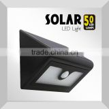 Outdoor Solar Powered Security LED Light, 50 LED Solar Motion Sensor Light with super briight