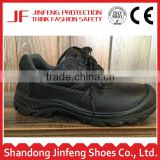 Low cut cheap steel toe cap black leather safety shoes pu sole safety shoes liberty industrial safety shoes price in india