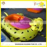 Water park sports inflatable motorized bumper boat price