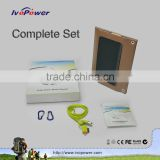Ivopower mobile solar charger with built-in Grade A lithium battery power bank high performance solar cells solar panel