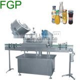 Glass Bottles Vacuum Capping Machine glass jar capper machine vacuum sealer machine with cap feeder