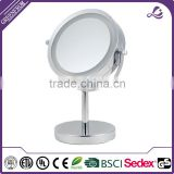 New arrived chrome framed mirror for bath accessories for gift