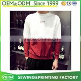 Hot sale customized cotton polyester mens hoodies made in china