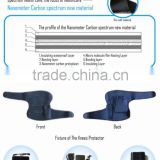 best tourmaline magnetic sports supports healthy far infrared self-heating knee pads protector