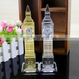 Crystal Wedding Decoration&Gift Use and Polished Technique Crystal Eiffel Tower Souvenirs