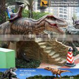MY Dino-C068 Artificial animatronic dinosaur ride for outdoor park