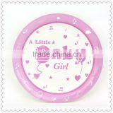 Baby girl theme kids birthday party supplies for paper plate buyer