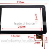 9 inch Touch Screen Panel Digitizer for Ployer MOMO 9 star interstellar 300-N3860B-A00-V1.0